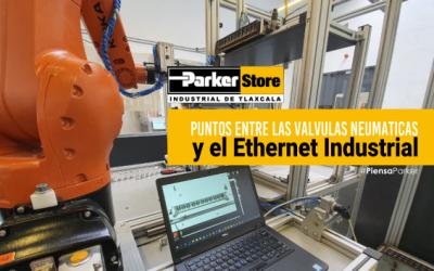 Conecta los Puntos Entre las Válvulas Neumáticas y el Ethernet Industrial