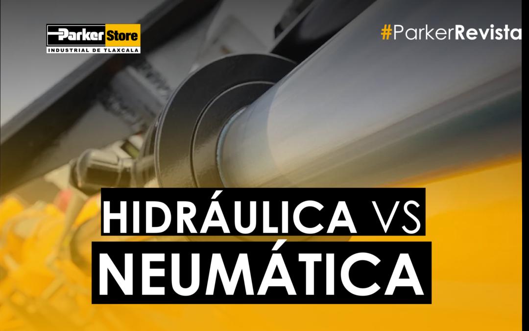 Hidráulica vs Neumática – ¿Cómo Elegir el Cilindro Correcto para el Trabajo Correcto?